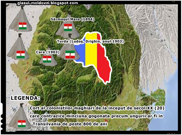 Ungurii nu sunt in Transilvania de 800 de ani! Unora nici macar nu le-a putrezit inca panza corturilor folosite pentru colonizare!