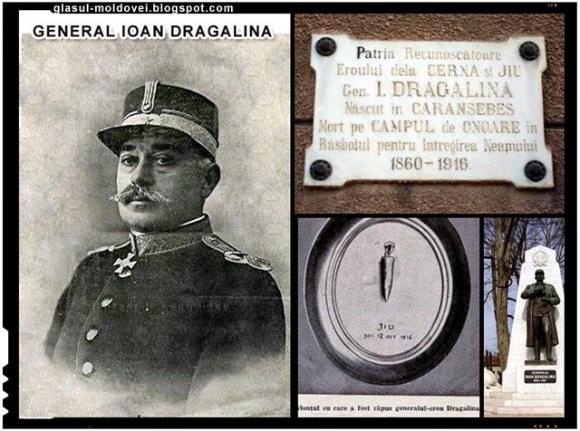 Generalul Ion Dragalina, eroul care murit in luptele de pe Valea Jiului
