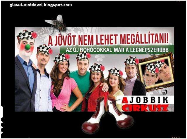 Partidul de extrema dreapta Jobbik, ridiculizat in Slovacia