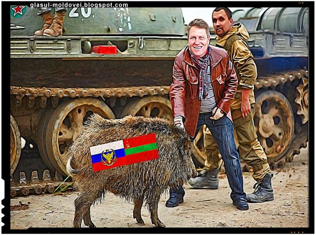 Klaus Johannis le-a adus liniste in casa moldovenilor
