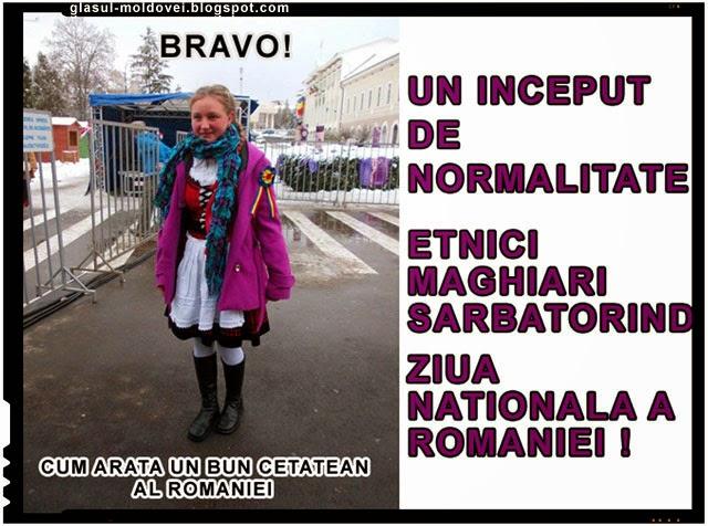 Un mic pas pentru normalitate in Romania