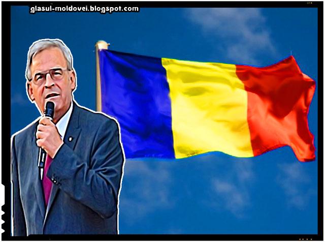 Laszlo Tokes, somat sa arboreze drapelul Romaniei!