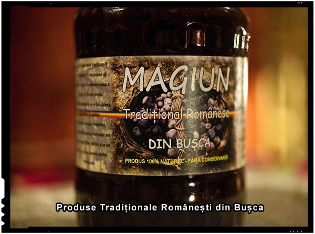 MAGIUN TRADIȚIONAL ROMÂNESC, Produs 100% natural, fără conservanți, BIO. Produs în localitatea Mihăești, sat Bușca, județul Olt, România.