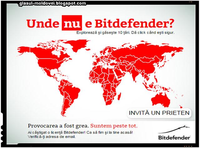 Castiga o licenta gratuita de la Bitdefender