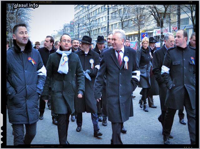 Politicieni romani veniti la Iasi de Ziua Unirii Mici