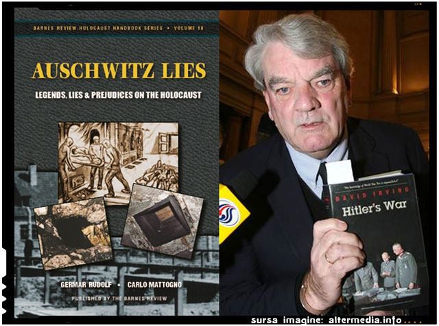BATTLESHIP AUSCHWITZ , CUIRASATUL AUSCHWITZ - Conferinţa istoricului David Irving, sursa imagine: altermedia.info