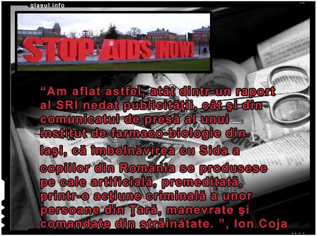 Anti-Românismul ca politică de stat, copii romani infectati intentionat in spitale cu virusul HIV