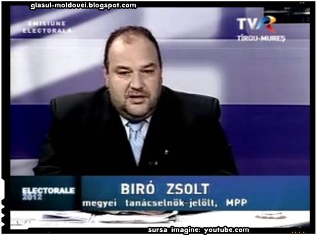 """Biro Zsolt: """"Maghiarii din Transilvania sunt pe zi ce trece mai aproape de autonomie"""", sursa imagine:youtube.com"""