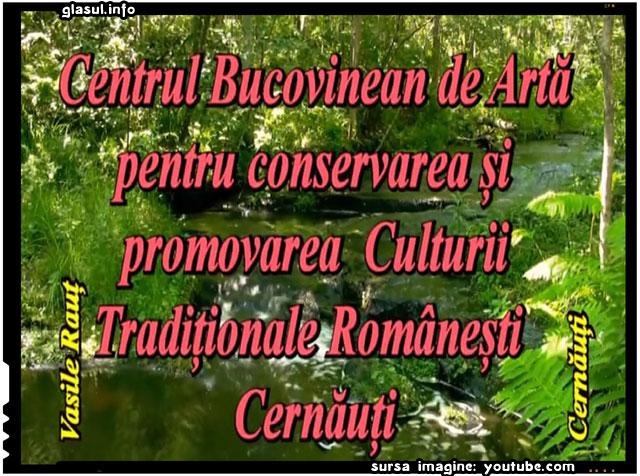 Centrul Bucovinean de Artă pentru Conservarea și Promovarea Culturii Tradiționale Românești Cernăuți, sursa imagine: youtube.com