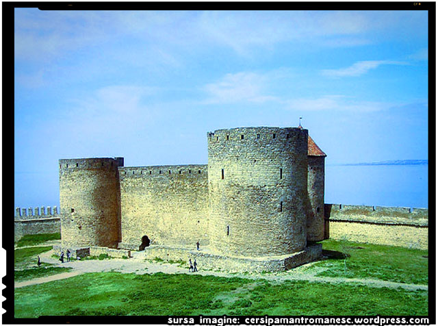 Istoria Moldovei: Cetatea Alba, sursa imagine: cersipamantromanesc.wordpress.com