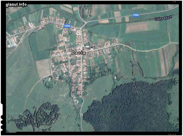 Dacia, denumirea unui frumos sat din judetul Brașov