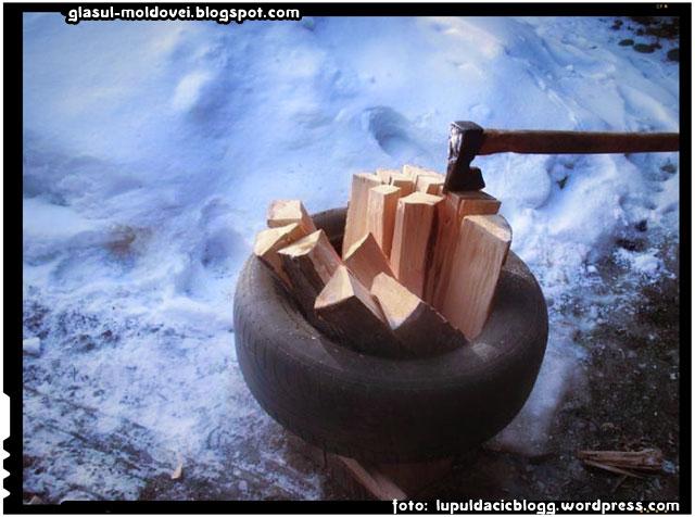 Ghid de supravietuire : cum să despici o mașină de lemne în 4 ore