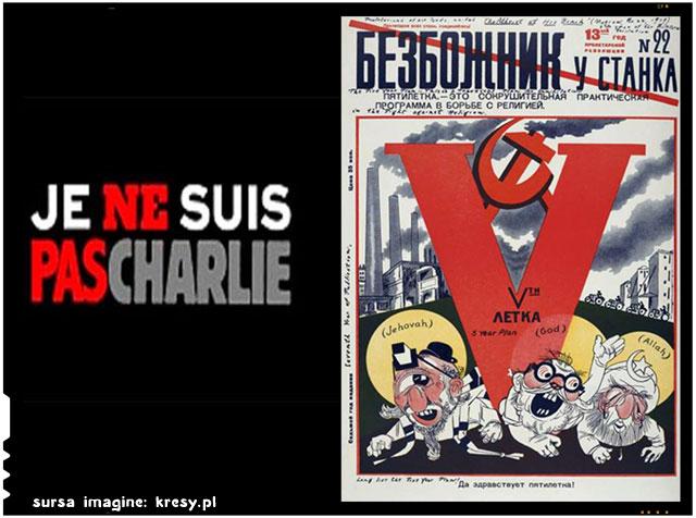 "Publicatia poloneza ""Kresy"" a initiat o miscare impotriva fenomenului ""je suis Charlie"""