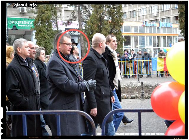 Ludovic Orban, 24 ianuarie 2015, Iasi, strada Stefan cel Mare
