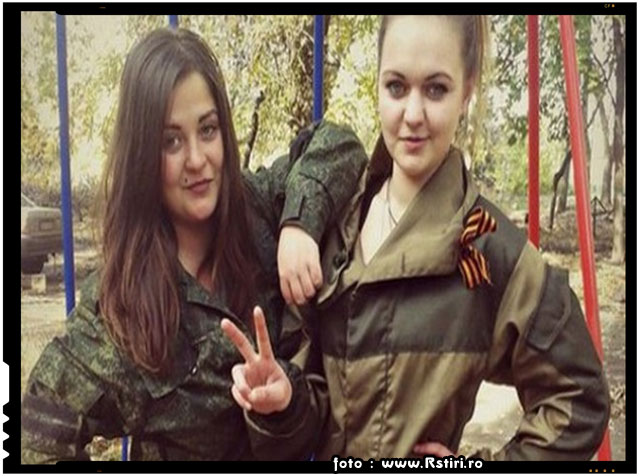 FOTO - Lunetistă de 19 ani, Arestata pentru Executarea unor Soldati Ucrainieni