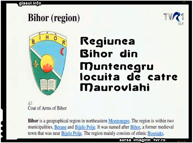 Maurovlahica-Recveim pentru o etnie dispărută, sursa imagine: tvr.ro