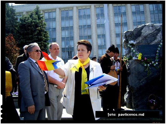 """""""Urmatorul act de demnitate este recunoasterea oficiala a ocupatiei Basarabiei si lichidarea consecintelor Pactului Molotov-Ribbentrop"""", foto : pavlicenco.md"""