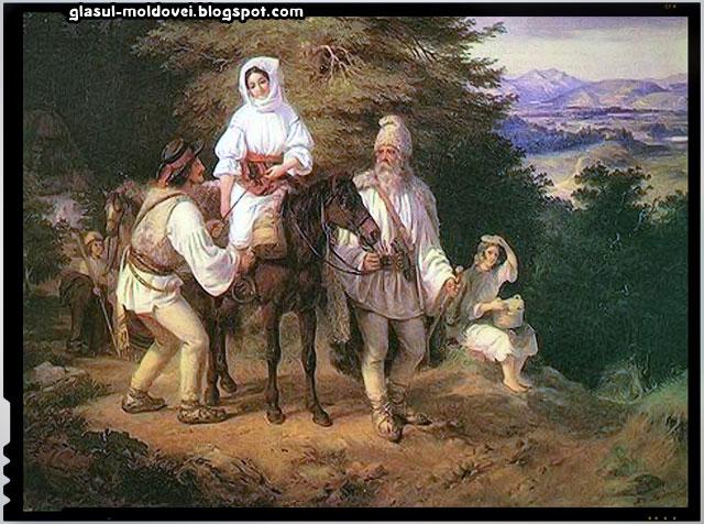 Un pictor maghiar pune în evidență continuitatea dacilor din Transilvania, în secolul XIX, sursa imagine: lupuldacicblogg.wordpress.com
