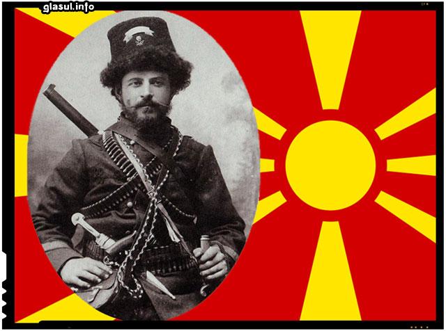 Pitu Guli, Un român omagiat în Imnul de stat al Macedoniei