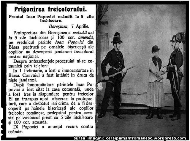 Despre antiromanismul si intoleranta din perioada stapanirii austro-ungare a Transilvaniei, sursa imagine: cersipamantromanesc.wordpress.com