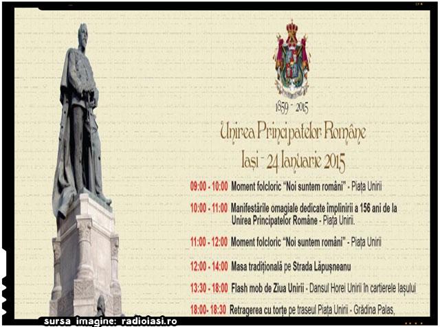 24 ianuarie 2015 – Program evenimente Iași, sursa imagine: radioiasi.ro
