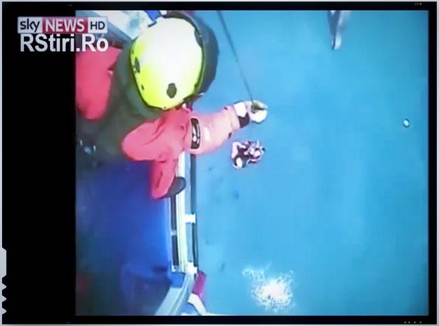 Salvarea unui român de pe o navă eșuată-VIDEO impresionant, sursa imagine: rstiri.ro
