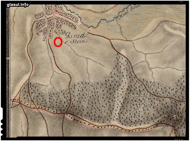 Dacia în Harta Iosefină a Transilvaniei, 1769-1773