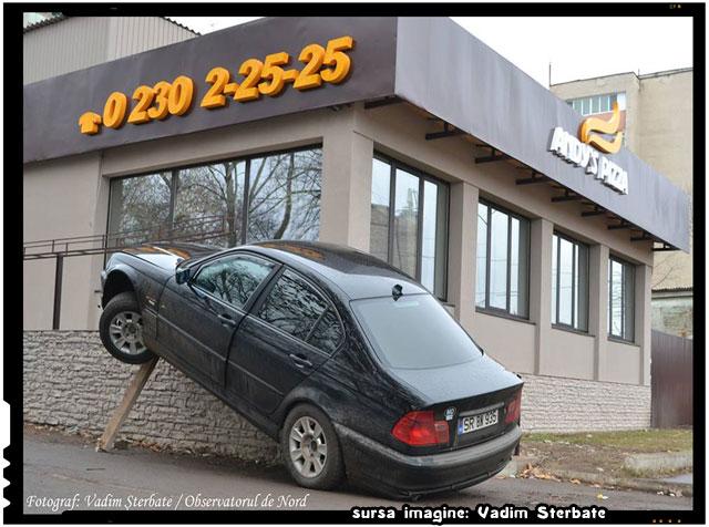 """Primul """"client"""" la pizzerie, sursa foto: Vadim Șterbate"""