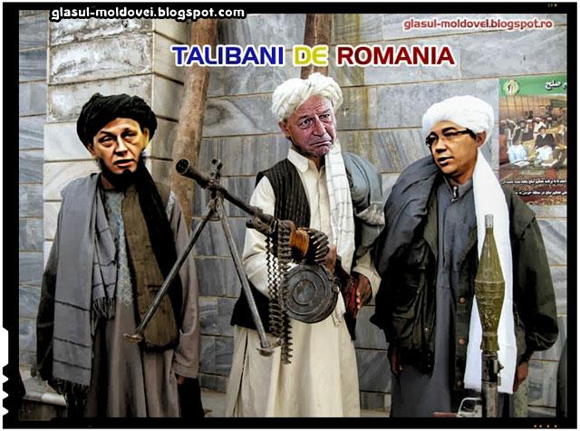 Talibani de Romania ( Crin Antonescu, Traian Basescu, Victor Ponta)