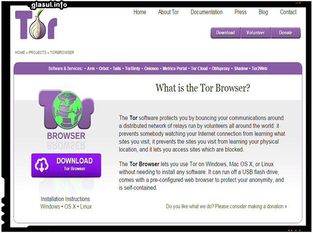 Cum sa evitati cenzura de pe internet, rapotarile false ale unor site-uri virusate si sa ramaneti anonimi?
