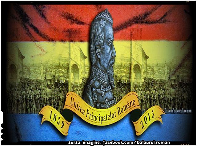Unirea Principatelor române sub Alexandru Ioan Cuza (1859), sursa imagine: facebook.com/balaurul.roman