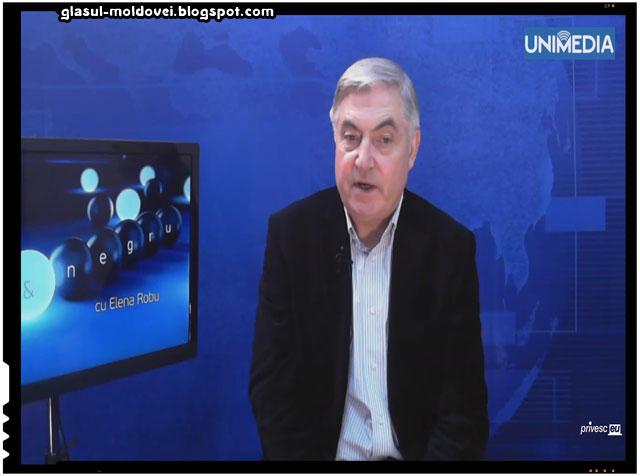 Vasile Nedelciuc consideră că Unirea cu România este o soluție firească pentru noi, sursa imagine: privesc.eu