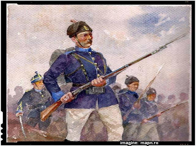 Pe 12 februarie 1878 trupele române au pătruns în Vidin - Războiul de Independență, sursa imagine: mapn.ro