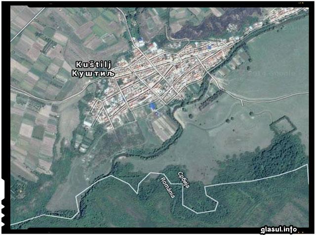 Satul Coștei din Serbia, populat aproape în exclusivitate de către români