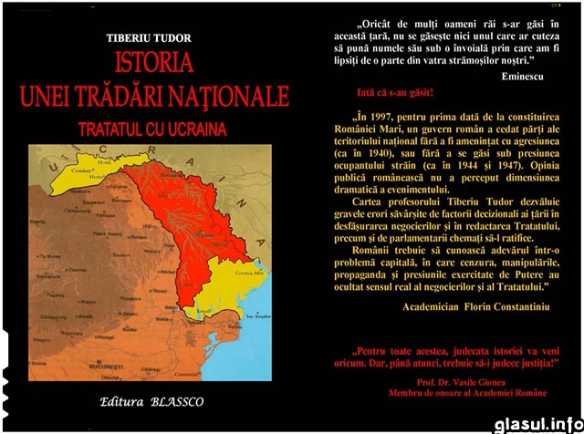 Istoria unei trădări naţionale Tratatul cu Ucraina