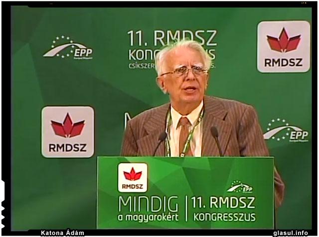 profesorul Katona Ádám, forum UDMR