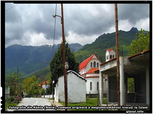 Fotografie din Nânta (Notia), comuna originară a meglenoromânilor trecuți la Islam., foto : facebook.com/meglenoromanii