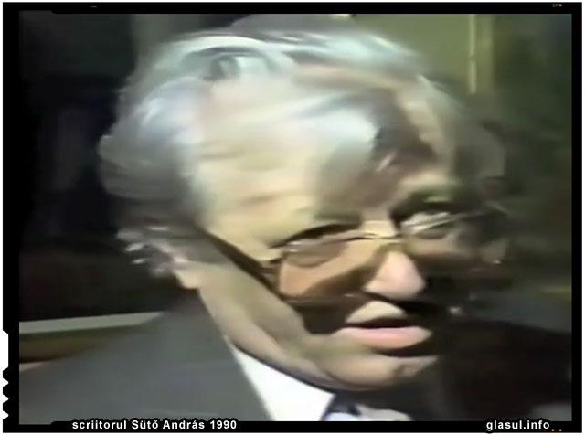 scriitorul Sütő András 1990