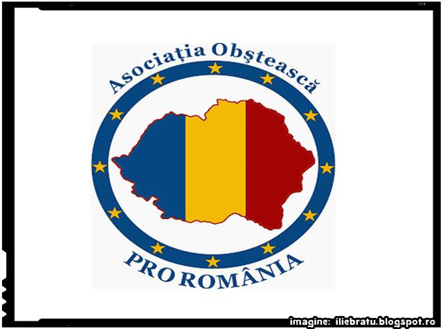 Din Statutul Asociaţiei PRO ROMÂNIA, imagine: http://iliebratu.blogspot.ro/