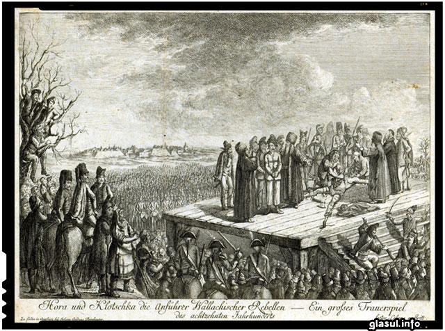 Se împlinesc 230 de ani de la martiriul lui Horea şi Cloşca