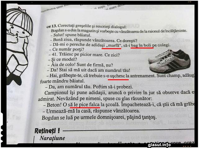 AVIZAT EDITURA CARMINIS MANUAL DE CLASA A IV A CARMEN IORDACHESCU, Distrugerea Romaniei - Sistemul de invatamant, Imbecilizarea populatiei