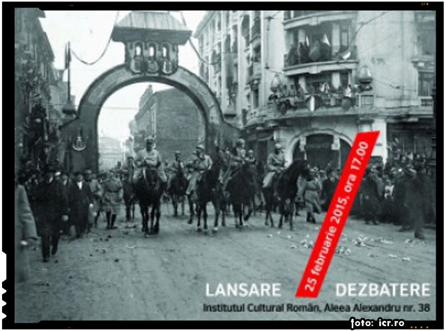 """Lansare de carte la ICR: """"Războiul cel Mare. Fotografia pe frontul românesc 1916 - 1919"""", foto: icr.ro"""