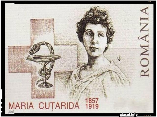 La 10 februarie1857 s-a născut Maria Cuţarida-Crătunescu, prima femeie medic din România
