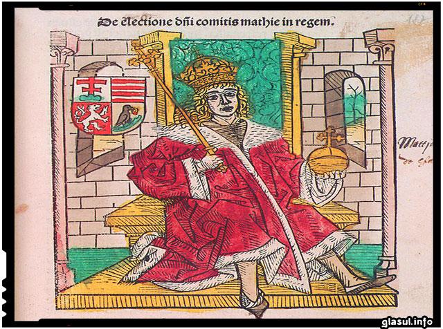 La 23 februarie 1443 se năștea Matia Corvin, unul dintre cei mai mari regi ai Ungariei