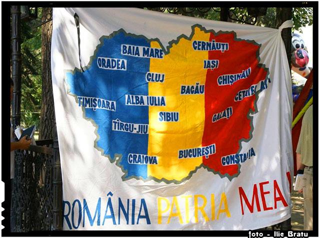 Tot mai multă lume îşi dă seama că doar UNIREA e singura soluţie pentru toate problemele existente în Republica Moldova, foto - facebook.com/ilie.bratu