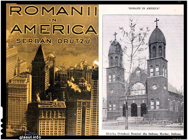 """""""Românii in America"""", de Serban Drutzu, 1922"""