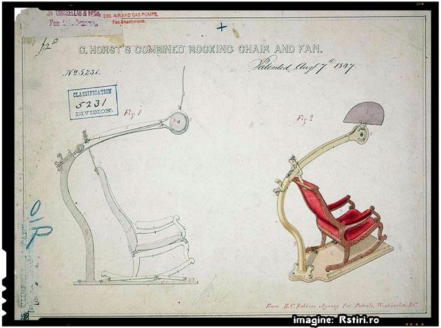 Scaunul cu ventilator, imagine: Rstiri.ro