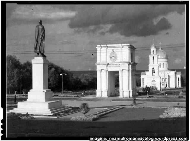 MONUMENTUL REGELUI FERDINAND DIN CHIŞINĂU, imagine: neamulromanescblog.wordpress.com