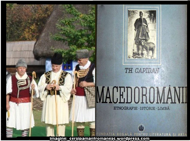 "CARTEA LUI THEODOR CAPIDAN -""MACEDOROMANII"", IN FORMAT ELECTRONIC, imagine: cersipamantromanesc.wordpress.com"