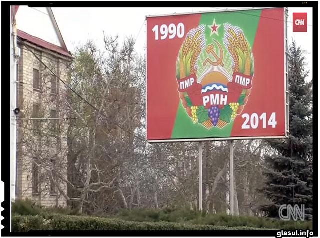 Ucraina ar putea bloca trupele rusesti din Transnistria